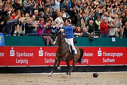 AHLMANN Christian (GER), Taloubet Z<br /> Leipzig - Partner Pferd 2018   <br /> Longines FEI World Cup Jumping - Grosser Preis von Leipzig<br /> &copy; www.sportfotos-lafrentz.de/Stefan LafrentzAhlmann Christian, GER, Taloubet Z<br /> Leipzig - Partner Pferd 2018   <br /> Longines FEI World Cup Jumping - Grosser Preis von Leipzig<br /> &copy; Hippo Foto - Stefan Lafrentz<br /> 21/01/2018