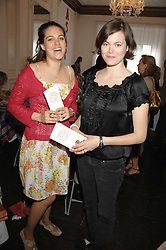 Left to right, The HON.REBECCA MACMILLAN and JASMINE GUINNESS at a lunch in aid of African Solutions To African Problems held at Il Bottaccio, 9 Grosvenor Place, London on 20th May 2008.<br /><br />NON EXCLUSIVE - WORLD RIGHTS