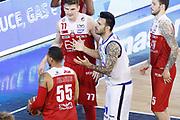 Sacchetti Brian delusione, GERMANI BASKET BRESCIA vs EA7 EMPORIO ARMANI OLIMPIA MILANO, gara 3 Semifinale Play off Lega Basket Serie A 2017/2018, PalaGeorge Montichiari (BS) 28 maggio 2018 - FOTO: Bertani/Ciamillo