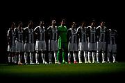 © Filippo Alfero<br /> Juventus-Genoa, Serie A 2016/2017<br /> Torino, 23/04/2017<br /> sport calcio<br /> Nella foto: Minuto di raccoglimento per Michele Scarponi