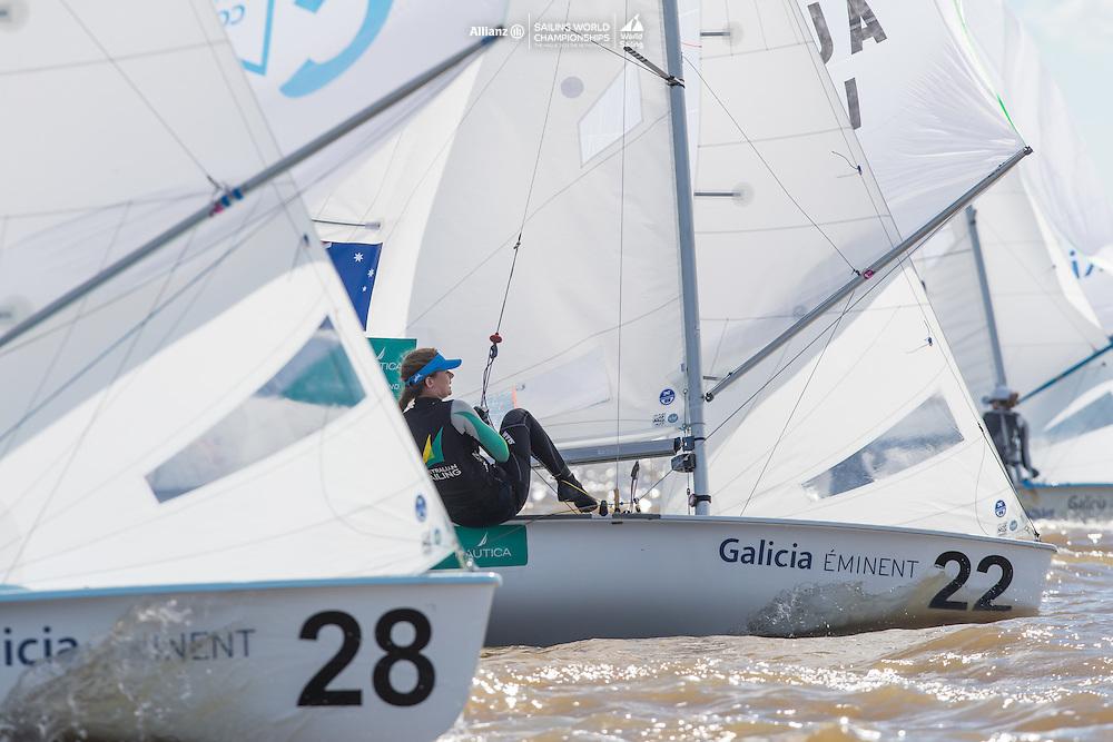 2016 470 World Championship. <br /> 20-27 February 2016. <br /> San Isidro, Argentina.<br /> Photo Credit  &copy; Matias Capizzano