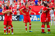 Action during the FIFA Women's World Cup 2015 in Vancouver, Canada