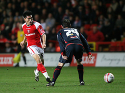 London, England - Tuesday, January 29th, 2008:  Charlton Athletic's Zheng Zhi in action against Stoke City during the Coca Cola Championship match at The Valley. (Pic by Chris Ratcliffe/Propaganda)