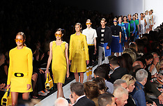 Michael Kors show at New York Fashion Week S/S 2013
