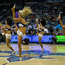 Mar 31, 2010; New Orleans, LA, USA;New Orleans Hornets Honeybees dancers perform during the first half against the Washington Wizards at the New Orleans Arena. Mandatory Credit: Derick E. Hingle-US PRESSWIRE