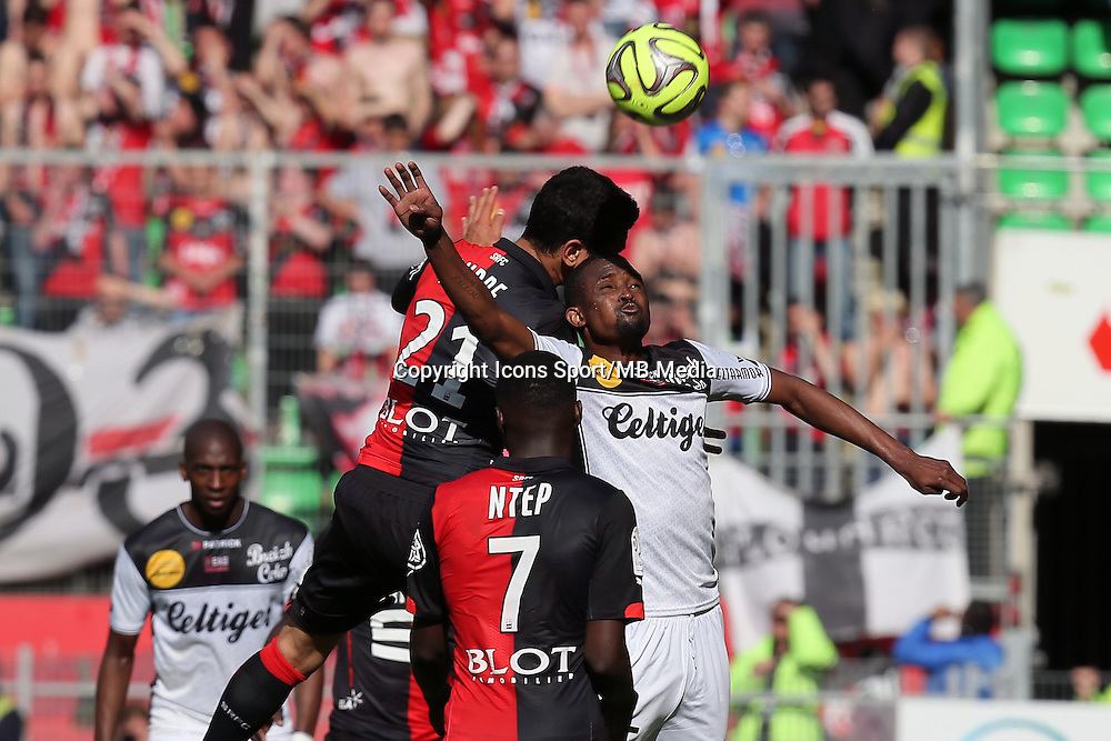 Benjamin ANDRE / Moustapha DIALLO - 12.04.2015 - Rennes / Guingamp - 32eme journee de Ligue 1 <br />