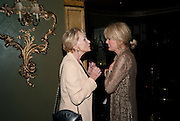 SIAN PHILLIPS; JOANNA LUMLEY, LA BæTE PRESS NIGHT, COMEDY THEATRE, PANTON STREET, SW1 After party at CafŽ de Paris, 3-4 Coventry Street, 7 July 2010. .-DO NOT ARCHIVE-© Copyright Photograph by Dafydd Jones. 248 Clapham Rd. London SW9 0PZ. Tel 0207 820 0771. www.dafjones.com.<br /> SIAN PHILLIPS; JOANNA LUMLEY, LA BÊTE PRESS NIGHT, COMEDY THEATRE, PANTON STREET, SW1 After party at Café de Paris, 3-4 Coventry Street, 7 July 2010. .-DO NOT ARCHIVE-© Copyright Photograph by Dafydd Jones. 248 Clapham Rd. London SW9 0PZ. Tel 0207 820 0771. www.dafjones.com.