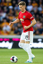 Scott McTominay of Manchester United - Mandatory by-line: Robbie Stephenson/JMP - 19/08/2019 - FOOTBALL - Molineux - Wolverhampton, England - Wolverhampton Wanderers v Manchester United - Premier League