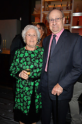 Jonathan Shalit's parents at a party to celebrate the 21st anniversary of The Roar Group hosted by Jonathan Shalit held at Avenue, 9 St.James's Street, London on 21st September 2015.