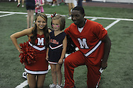 """Meet The Rebels"" at the Manning Center in Oxford, Miss. on Saturday, August 16, 2014. Members of the Ole Miss football, soccer, volleyball, rifle, and women's golf teams, as well as the spirit squads, greeted fans and signed autographs."