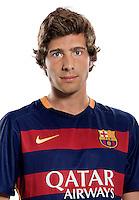 Spain - Liga BBVA 2015-2016 / <br /> ( Fc Barcelona ) - <br /> Sergi Roberto
