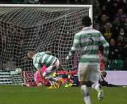 Celtic's John Guidetti puts Celtic 2-0 ahead - Celtic v Dundee, SPFL Premiership at Celtic Park<br /> <br />  - © David Young - www.davidyoungphoto.co.uk - email: davidyoungphoto@gmail.com