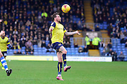 Oxford United striker Chris Maguire (10) controls the ball during the EFL Sky Bet League 1 match between Oxford United and Walsall at the Kassam Stadium, Oxford, England on 31 December 2016. Photo by Dennis Goodwin.