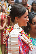 Meghan Markle Wears Frangipani-Fiji National Flower