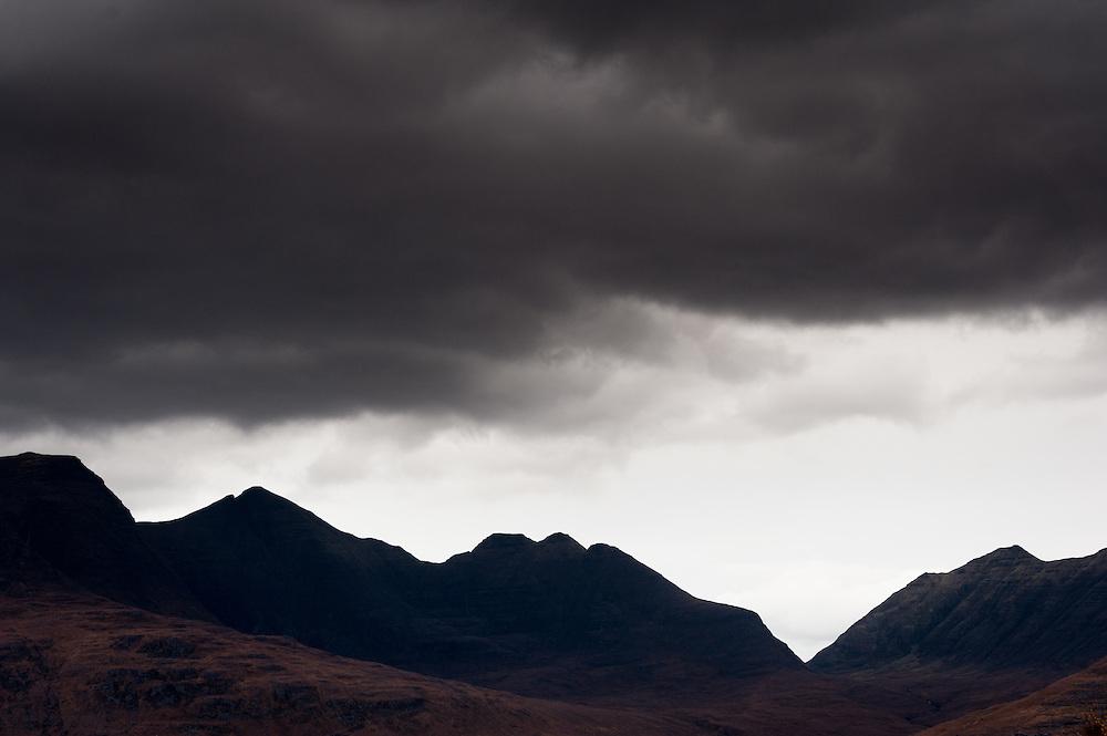 Beinn Alligin skyline, Torridon, Scotland