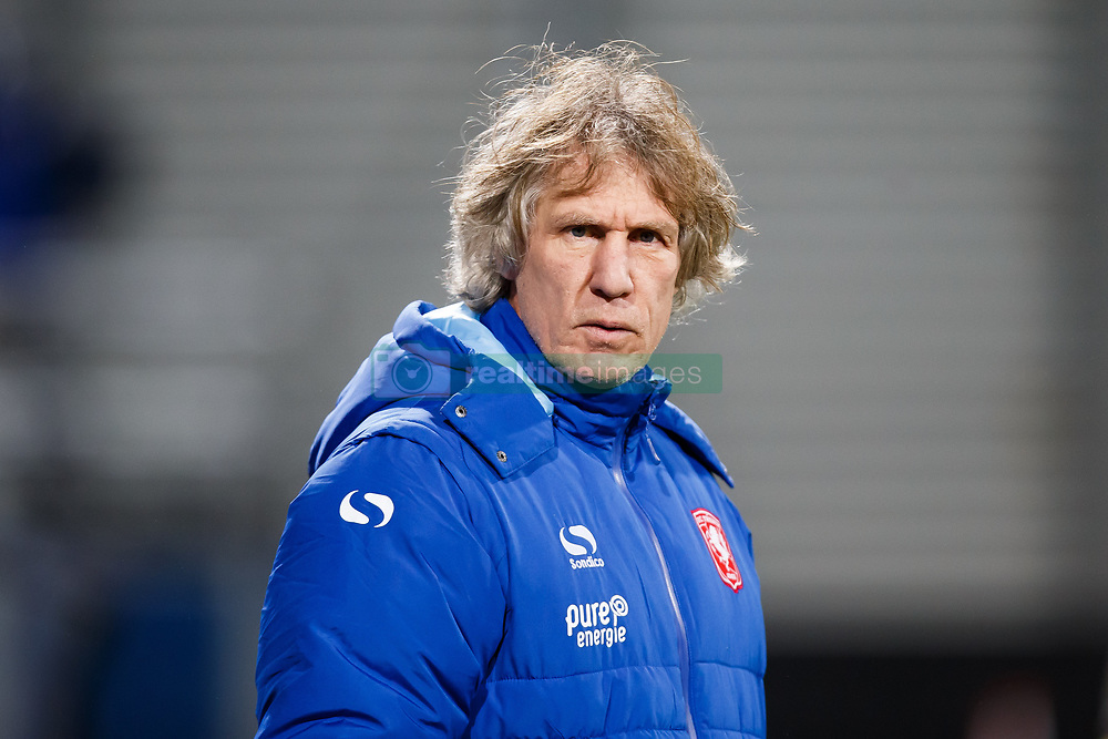 coach Gertjan Verbeek of FC Twente during the Dutch Eredivisie match between sbv Excelsior Rotterdam and FC Twente at Van Donge & De Roo stadium on December 23, 2017 in Rotterdam, The Netherlands