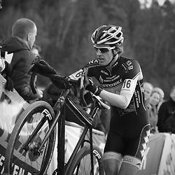 Nederlands Kampioenschap veldrijden Gasselte elite Jordi Luisman