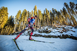 Aleksandrs Patrijuks (LAT) in action during the Men 10km Sprint at day 6 of IBU Biathlon World Cup 2018/19 Pokljuka, on December 7, 2018 in Rudno polje, Pokljuka, Pokljuka, Slovenia. Photo by Vid Ponikvar / Sportida