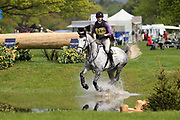 Sarah Dowley (IRE) riding Shannondale Dita during the International Horse Trials at Chatsworth, Bakewell, United Kingdom on 12 May 2018. Picture by George Franks.