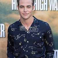 "Chris Pine arrives at the special screening of ""Hell or High Water"" at the Arclight Hollywood on Wednesday, Aug. 10, 2016, in Los Angeles. (Photo by Willy Sanjuan/Invision/AP)"