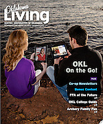 Oklahoma Living Magazine cover March 2013 Cover photo