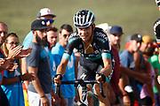 Davide Formolo (ITA - Bora - Hansgrohe), during the UCI World Tour, Tour of Spain (Vuelta) 2018, Stage 9, Talavera de la Reina - La Covatilla 200,8 km in Spain, on September 3rd, 2018 - Photo Luca Bettini / BettiniPhoto / ProSportsImages / DPPI