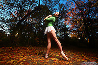 Dance As Art New York City Photography Project Central Park Fall Series with dancer, Janna Davis