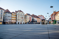 THEMENBILD - Der leere Hauptplatz in Graz in Folge des Coronavirus-Ausbruchs in Österreich, aufgenommen am 15.03.2020 in Graz, Österreich // Empty main square as a result of the coronavirus outbreak in Austria, on 2020/03/15 in Graz, Austria. EXPA Pictures © 2020, PhotoCredit: EXPA/ Erwin Scheriau