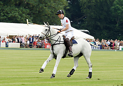 © Licensed to London News Pictures. 15/06/2014. London, UK Prince William Duke of Cambridge, Maserati Jerudong Trophy Charity polo match, Cirencester Park Polo Club, 15 June 2014,. Photo credit : Mike Webster/PIQ/LNP