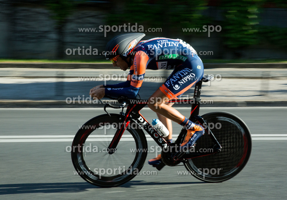 NIBALI Antonio (Italy) of Nippo - Vini Fantini competes during Stage 1 of 22nd Tour of Slovenia 2015 - Time Trial 8,8 km cycling race in Ljubljana  on June 18, 2015 in Slovenia. Photo by Vid Ponikvar / Sportida