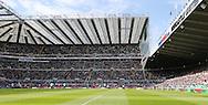 St. James's Park in glorious sunshine during the Barclays Premier League match at St. James's Park, Newcastle<br /> Picture by Simon Moore/Focus Images Ltd 07807 671782<br /> 15/05/2016