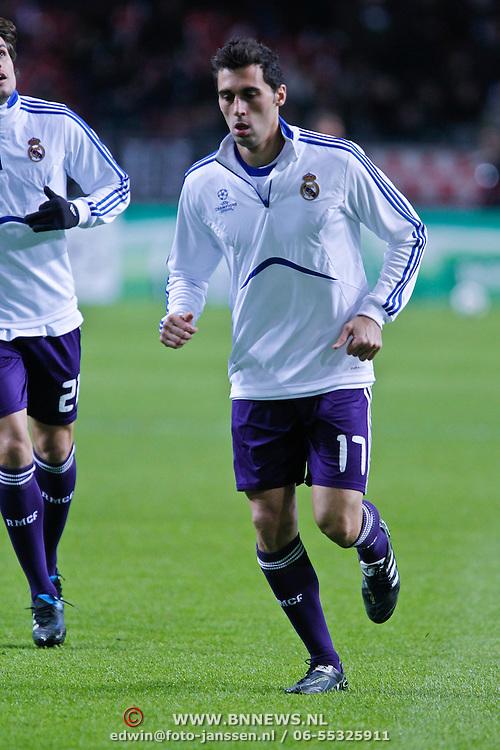 NLD/Amsterdam/20101123 - Ajax - Real Madrid, Alvero Arbeloa (17)