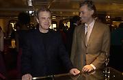 Harry Enfield, Bob Geldof . Charity sale of the last ever sale at Asprey and Garrard. New Bond St. London. 15/1/02© Copyright Photograph by Dafydd Jones 66 Stockwell Park Rd. London SW9 0DA Tel 020 7733 0108 www.dafjones.com