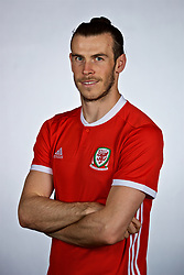 NANNING, CHINA - Saturday, March 24, 2018: Wales' Gareth Bale during a squad photo shoot at the Wanda Realm Hotel on day five of the 2018 Gree China Cup International Football Championship. (Pic by David Rawcliffe/Propaganda)