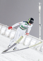 February 8, 2019 - Lahti, Finland - Peter Prevc participates in FIS Ski Jumping World Cup Large Hill Individual training at Lahti Ski Games in Lahti, Finland on 8 February 2019. (Credit Image: © Antti Yrjonen/NurPhoto via ZUMA Press)