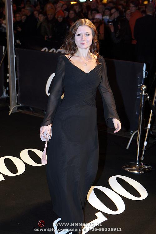 NLD/Amsterdam/20081104 - Première James Bond film Quantum of Solace, Celine Purcell