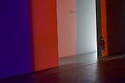 """Linz, Austria. Olafur Eliasson at Lentos.<br /> """"Sua fogueira cósmica (your cosmic campfire)"""", 2011."""
