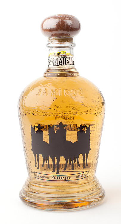 3 Amigos anejo -- Image originally appeared in the Tequila Matchmaker: http://tequilamatchmaker.com