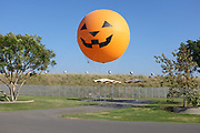 Orange County Great Park Balloon Ride Pumpkin Face