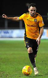 Robbie Willmott of Newport County in action - Mandatory by-line: Nizaam Jones/JMP- 23/01/2018 - FOOTBALL - Rodney Parade - Newport, Wales- Newport County v Morecambe - Sky Bet League Two