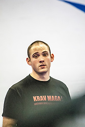 Stef Noij, the KMG Instructor from the Institute Krav Maga Netherlands, takes the IKMS G Level Programme seminar today at the Scottish Martial Arts Centre, Alloa.