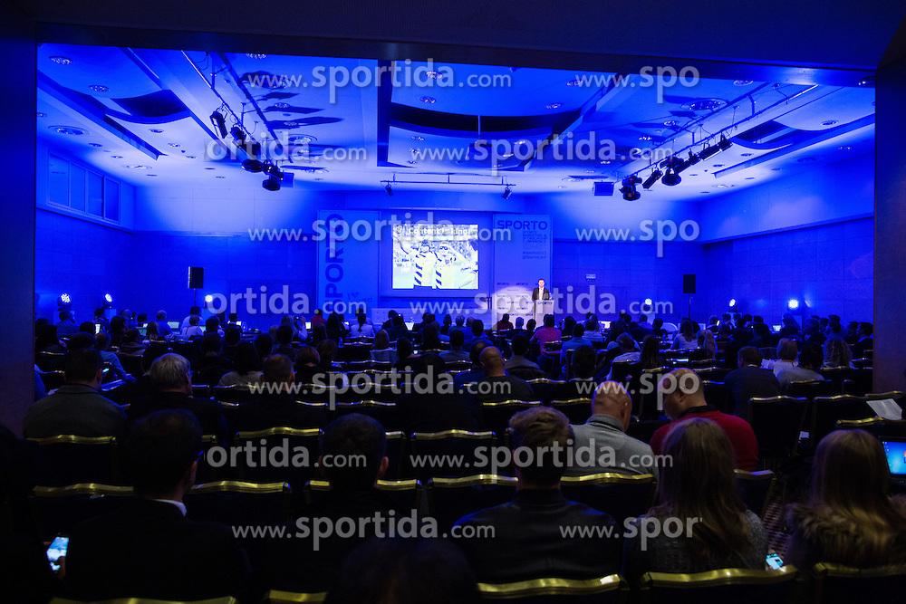 Conference room during Sports marketing and sponsorship conference Sporto 2015, on November 19, 2015 in Hotel Slovenija, Congress centre, Portoroz / Portorose, Slovenia. Photo by Vid Ponikvar / Sportida