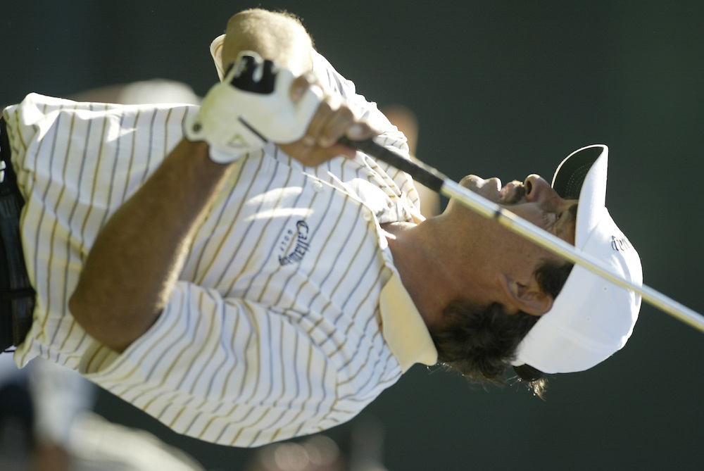 Carlos Franco..2003 Phoenix Open.TPC at Scottsdale, Scottsdale, AZ..January  25, 2003..Photograph by Darren Carroll..X67646