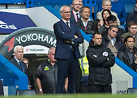 Football - 2016/2017 Premier League - Chelsea V Leicester.<br /> <br /> Leicester City Manager Claudio Ranieri   at Stamford Bridge.<br /> <br /> COLORSPORT/DANIEL BEARHAM