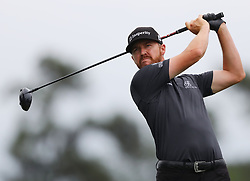 April 7, 2018 - Augusta, GA, USA - Jimmy Walker hits from the 1st tee during the third round of the Masters Tournament on Saturday, April 7, 2018, at Augusta National Golf Club in Augusta, Ga. (Credit Image: © Curtis Compton/TNS via ZUMA Wire)
