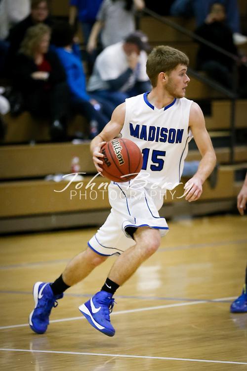 December/20/12:  MCHS Varsity Boys Basketball vs Rappahannock.  Madison wins 81-36.