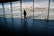 Roma  23 Maggio 2012.La nuova Stazione Tiburtina dell'alta velocità..