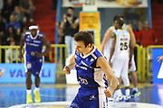DESCRIZIONE : Cremona Lega A 2013-2014 Vanoli Cremona Pallacanestro Cantu<br /> GIOCATORE : Stefano Gentile<br /> SQUADRA : Pallacanestro Cantu<br /> EVENTO : Campionato Lega A 2013-2014<br /> GARA : Vanoli Cremona Pallacanestro Cantu<br /> DATA : 17/11/2013<br /> CATEGORIA : Ritratto Esultanza<br /> SPORT : Pallacanestro<br /> AUTORE : Agenzia Ciamillo-Castoria/F.Zovadelli<br /> GALLERIA : Lega Basket A 2013-2014<br /> FOTONOTIZIA : Cremona Campionato Italiano Lega A 2013-14 Vanoli Cremona Pallacanestro Cantu<br /> PREDEFINITA :