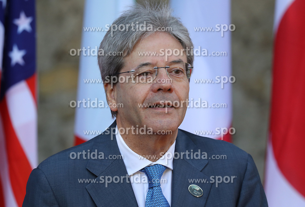 27.05.2017, Taormina, ITA, 43. G7 Gipfel in Taormina, im Bild Italiens Premierminister Paolo Gentiloni // Italy's Prime Minister Paolo Gentiloni during the 43rd G7 summit in Taormina, Italy on 2017/05/27. EXPA Pictures &copy; 2017, PhotoCredit: EXPA/ SM<br /> <br /> *****ATTENTION - OUT of GER*****
