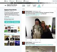 Evergon, Ingrid Bachmann, Galerie Trois Points, Twitter Wojtek Gwiazda